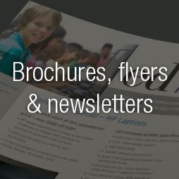 Brochures flyers newsletters west auckland graphic designer