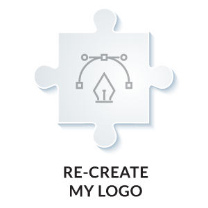 recreate my logo in vector format