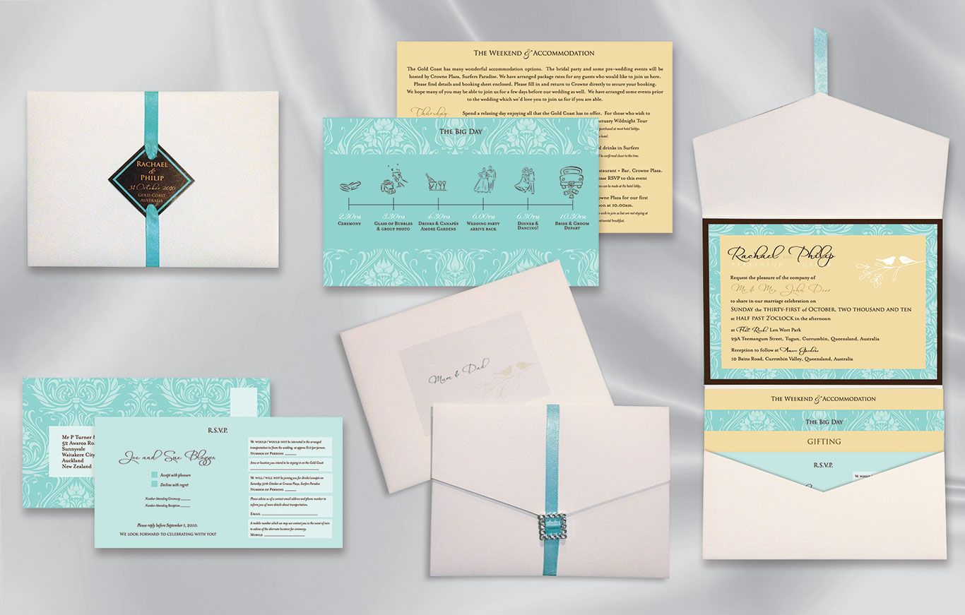 Wedding Invitations & Stationery - Fifty Two Limited